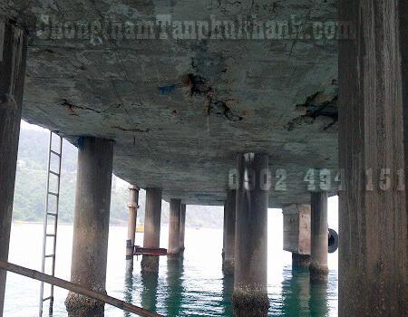 bê tông sàn cảng bong tróc