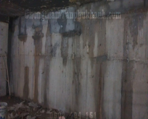 chống thấm tầng hầm hiệu quả