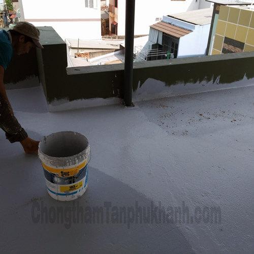 chống thấm sàn mái giá rẻ tại TPHCM