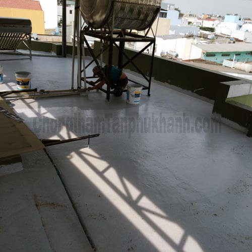 chống thấm sàn mái tại Gò Vấp