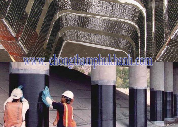 Đơn vị gia cố kết cấu bằng sợi carbon