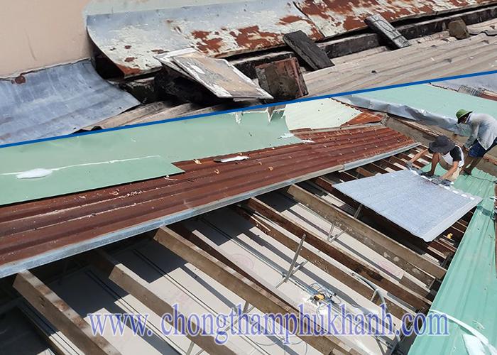 Những điều nên biết khi chống dột mái tôn