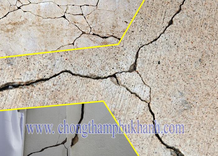 Vấn đề xử lý nứt bê tông