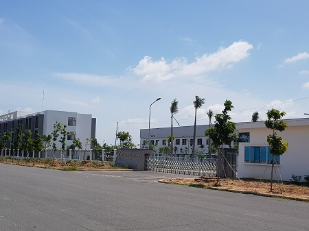sửa chữa vết nứt nền xưởng cty sparklink Việt Nam