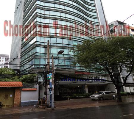 xử lý nứt sàn tầng tòa nhà Minh Long